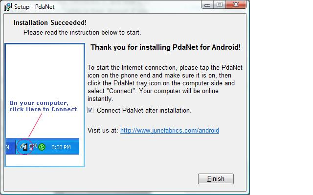 pdanet android 2.45