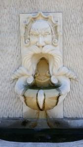 Mustache Fountain