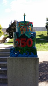 STL 250 Cake at the Water Tower